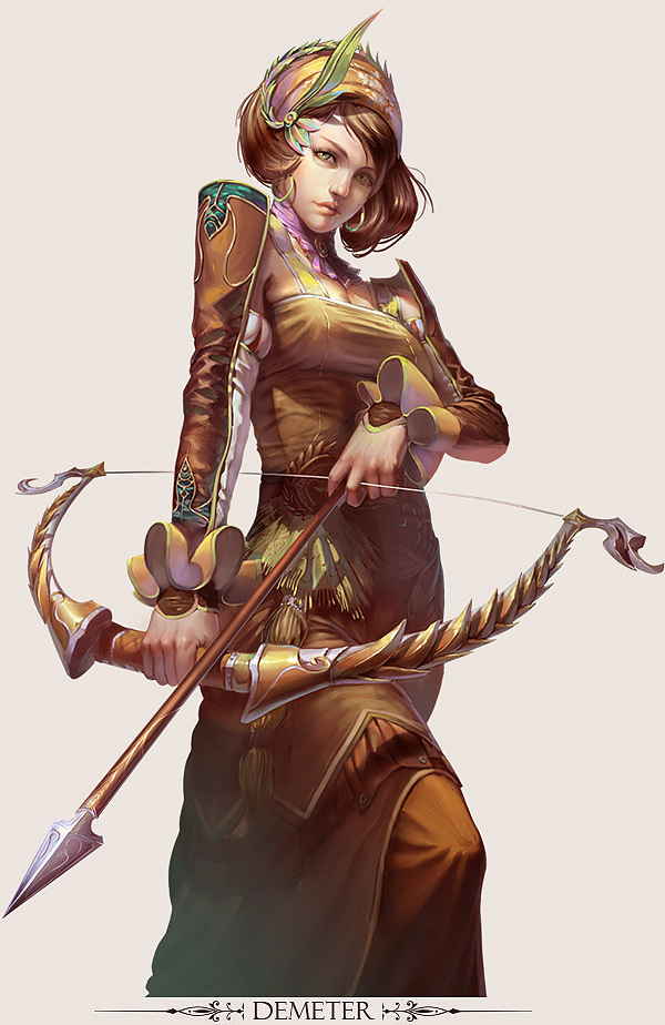 Picture-4 ( 25 Stunning Game Character Designs and Fantasy Digital Art works by Hong Yu-Cheng )